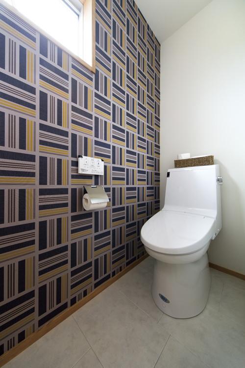 トイレのおしゃれな壁紙・クロス