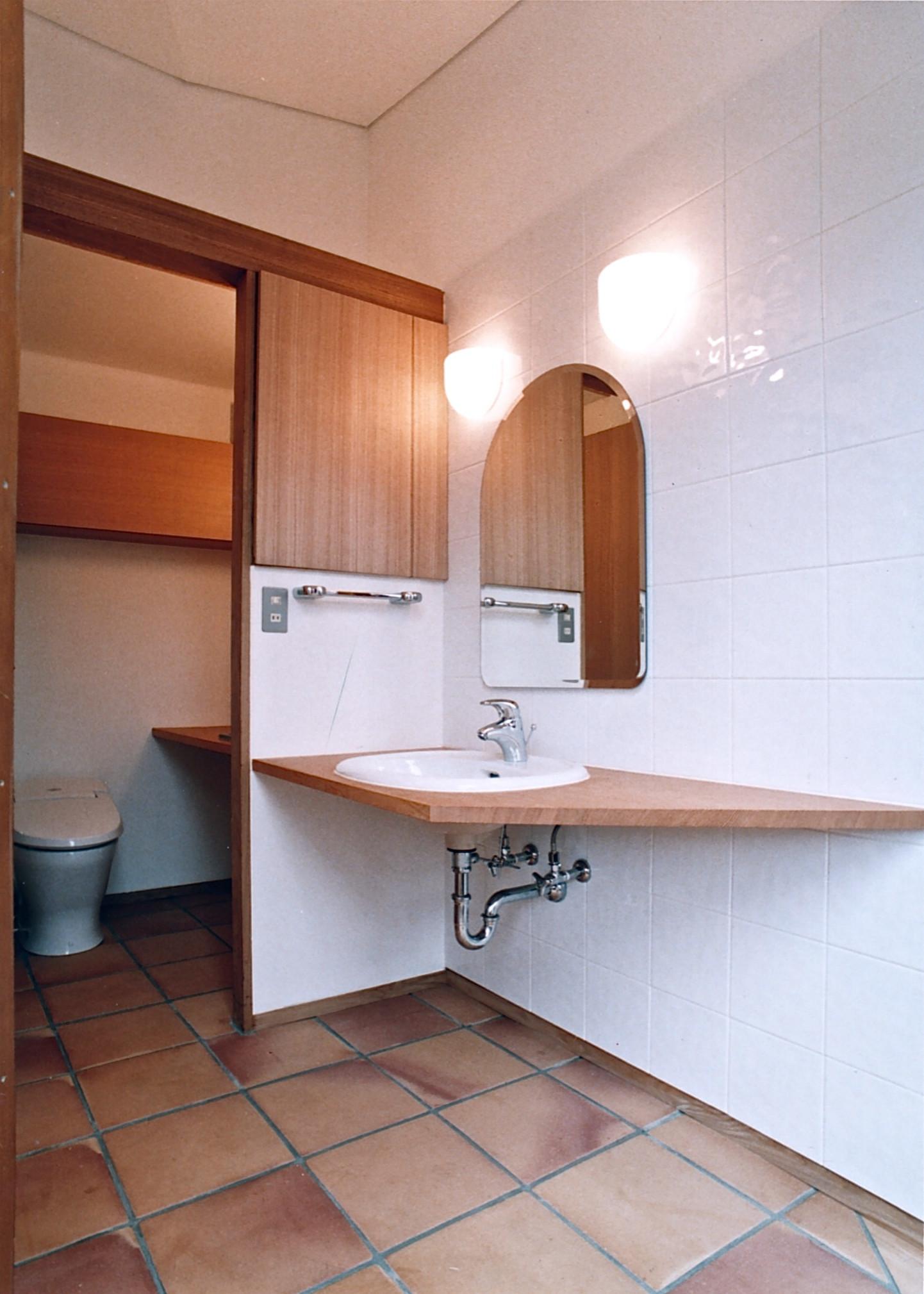 ハウスK/洗面・トイレ