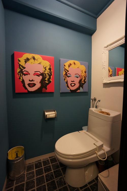 スタイリッシュなトイレの施工事例