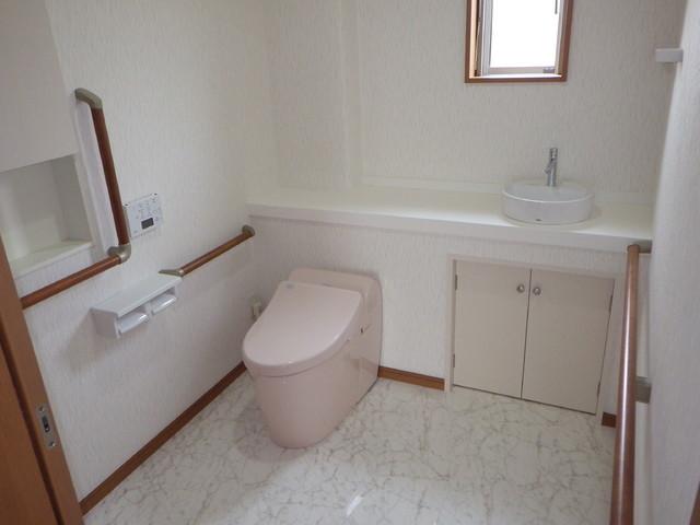 広々トイレ トイレ洗面所