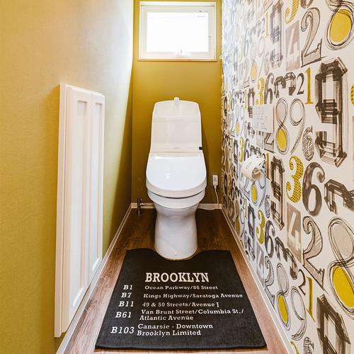 お洒落なトイレの施工事例