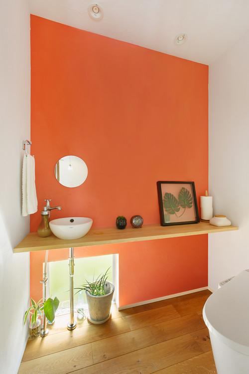 b7bb9c14a7db5 トイレにオススメの壁紙】トイレに合うアクセントクロスや色は?