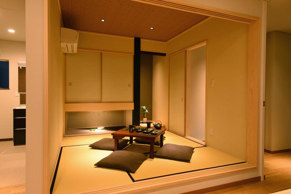 2020日式客厅装修设计 2020日式榻榻米装修图片