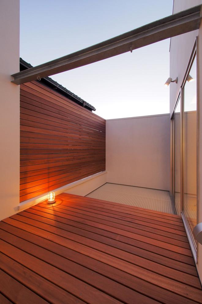 Ispirazione per un balcone design
