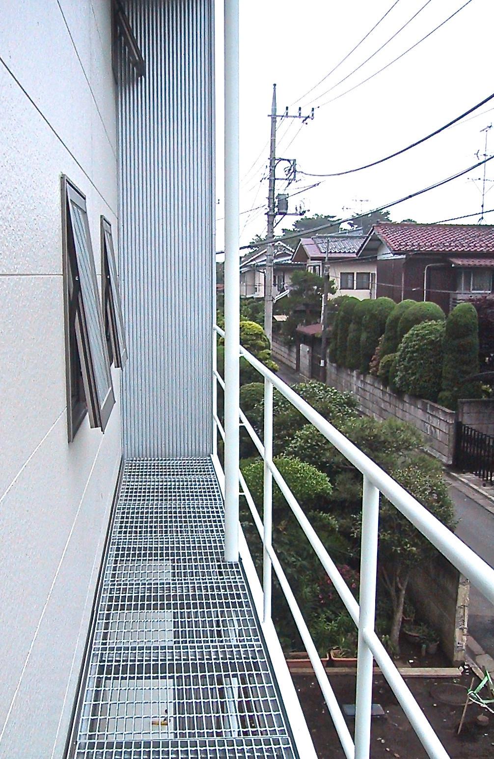 清瀬の家/バルコニー