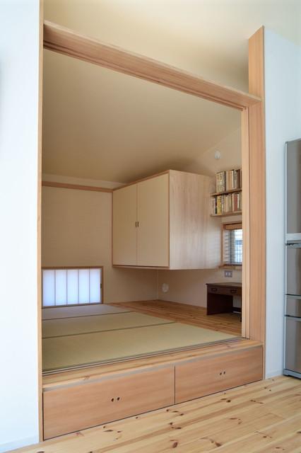 Dacha Ushiku 和室和風-書斎ホームオフィス