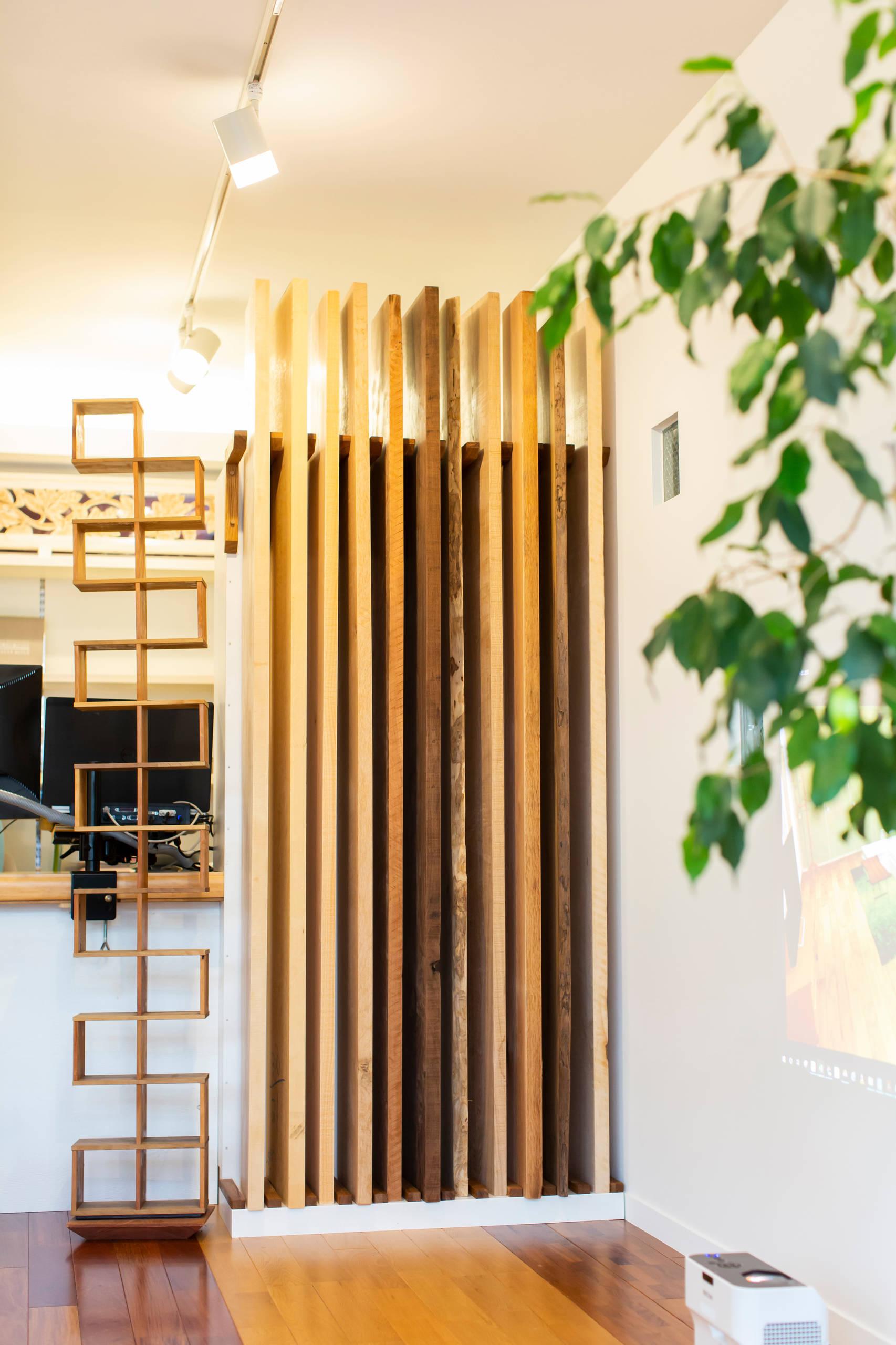 木と素材のギャラリー