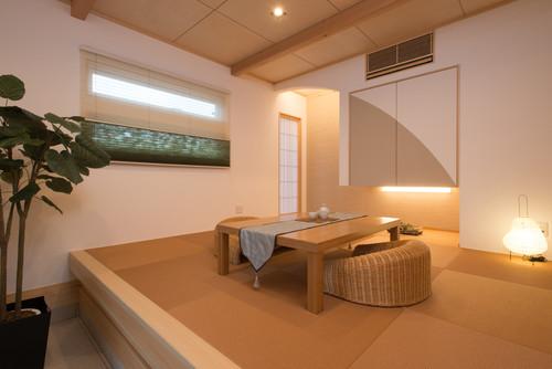 株式会社木の花ホームによる、和室の画像 by houzz