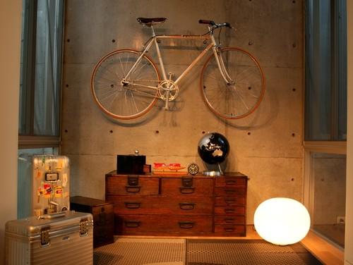 【Houzz】スポーツ用自転車を家の中に収納・保管する5つのアイデア 10番目の画像
