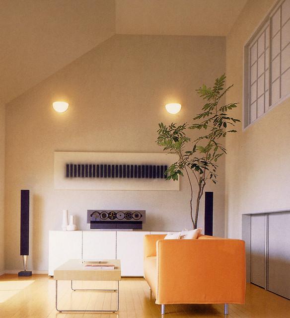 Modern living room plants for Modern living room plants