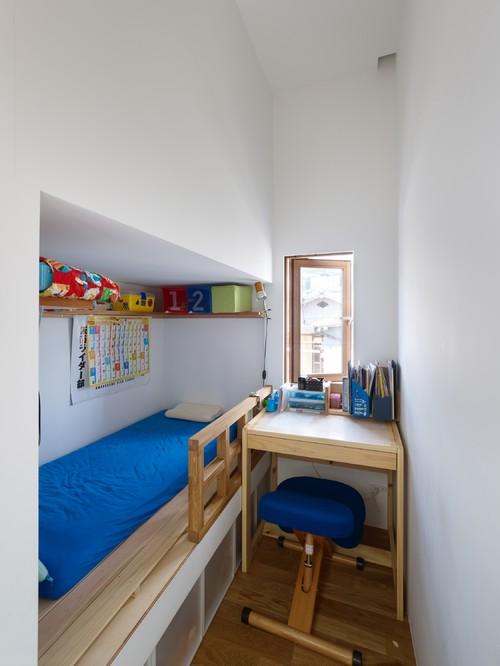 六甲の狭小住宅2