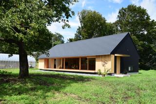 厚木の家 アジアン-家の外観