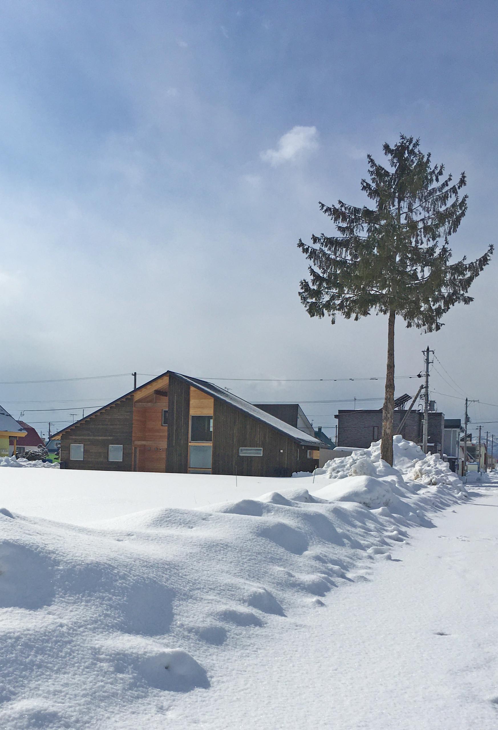 名寄川ほとりの2世帯住宅