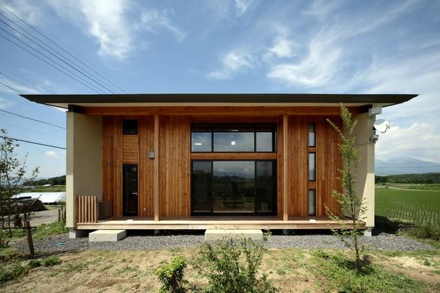御牧原の家 外観 和室和風-エクステリア-外観外構