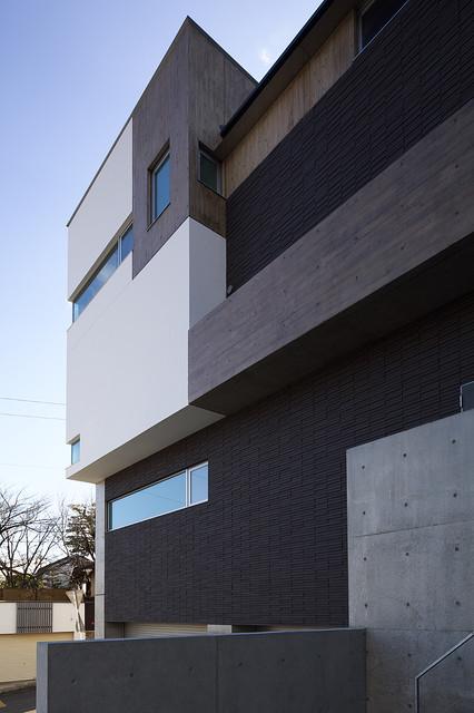 外景外墙现代风格装饰图片