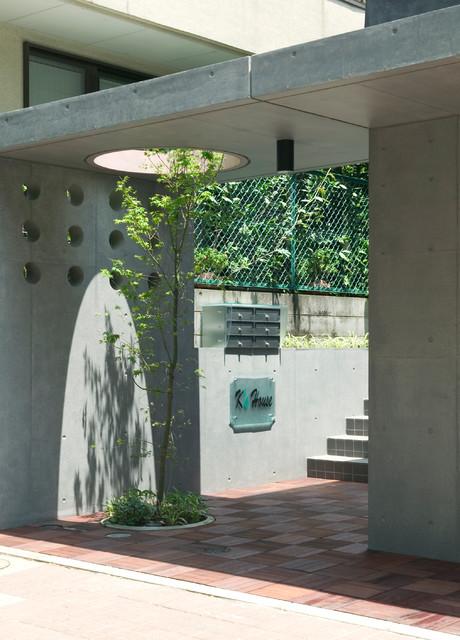 日本 東京23区の和風の家の外観の写真