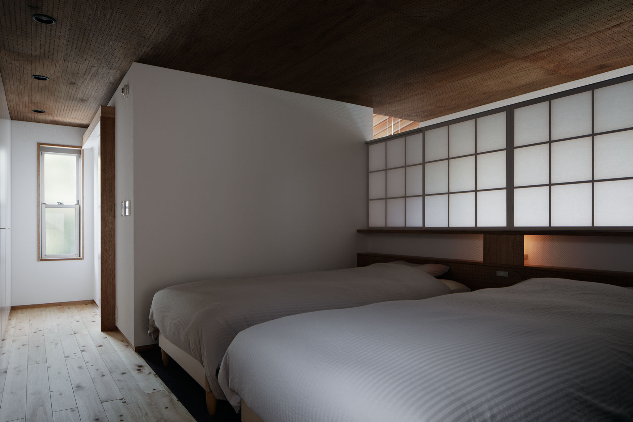 コの字の家/寝室