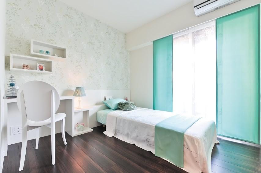 福岡のモダンスタイルの寝室の画像