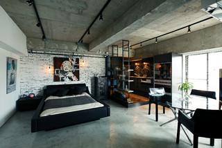 リフォーム実例 #415 インダストリアル-寝室