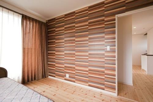 木目調の壁紙