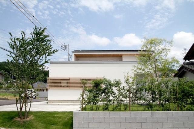名古路建築モデルハウス 庭ランドスケープ