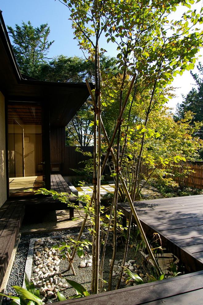 横浜の和風の庭・ランドスケープの画像