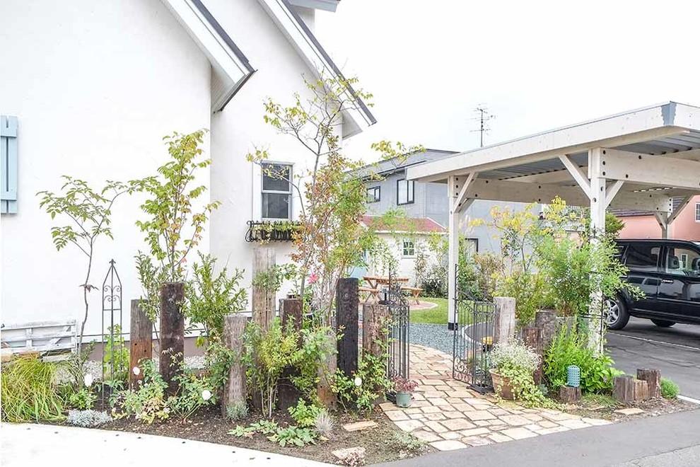 札内のお庭