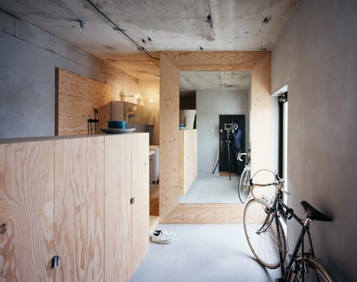 【Houzz】スポーツ用自転車を家の中に収納・保管する5つのアイデア 1番目の画像