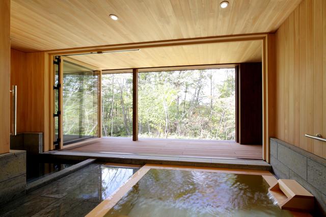 鶴溜の家 浴室 和室和風-浴室