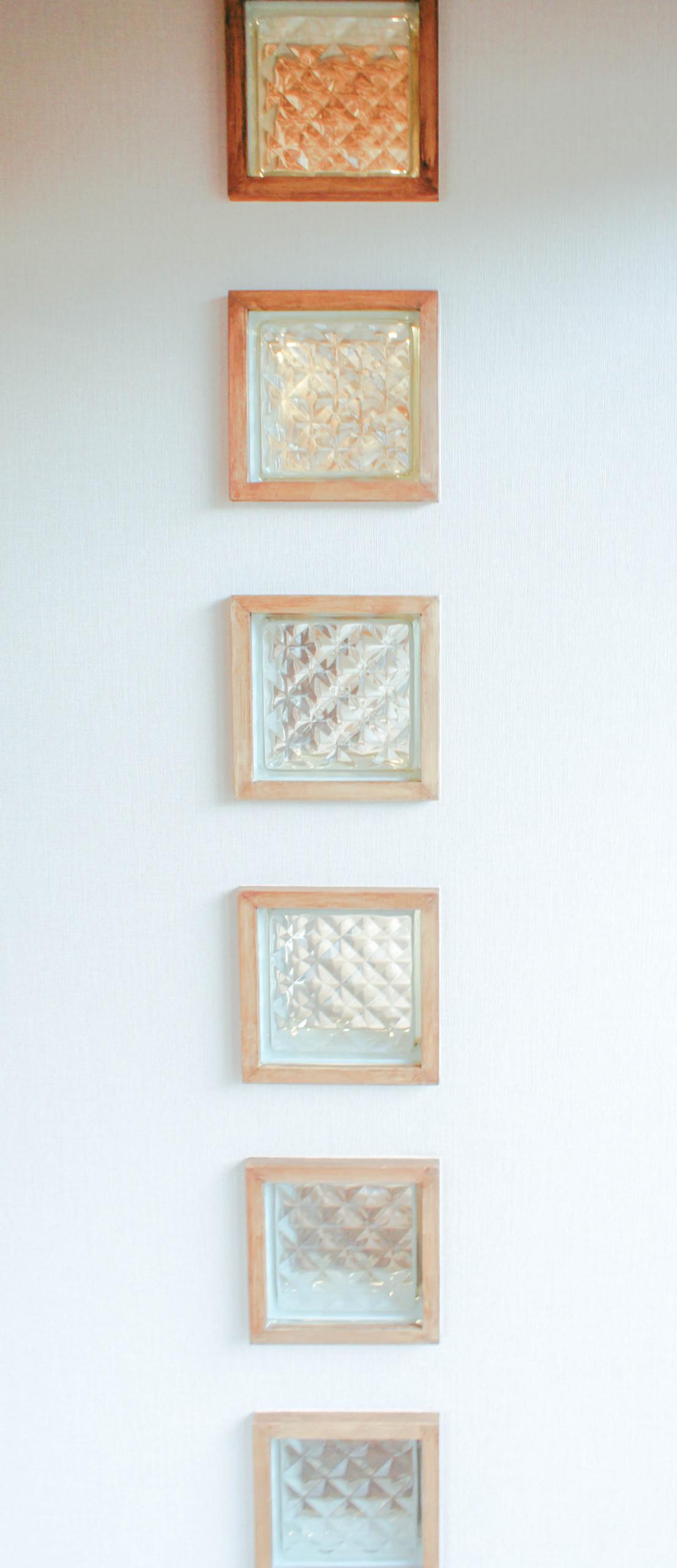 自然光を優しく取り込むガラスブロック
