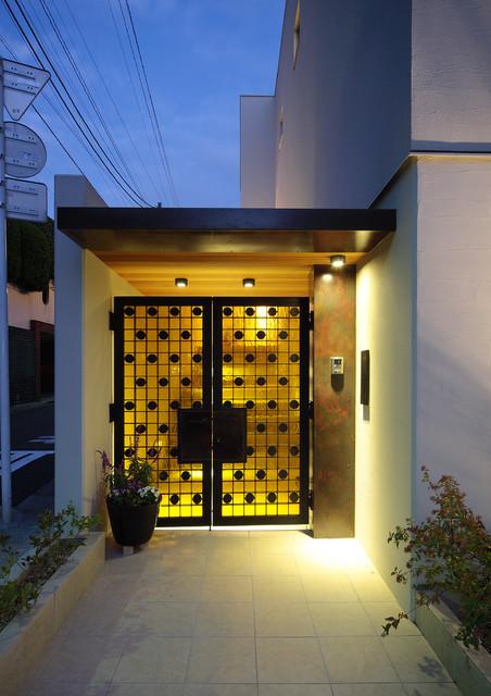CASA CUBE - Moderne - Entré - Tokyo - af 株式会社ハウゼ