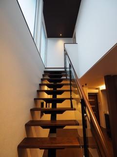 階段 シースルー