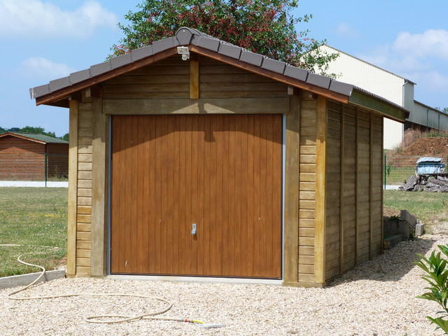 BETIWOOD : Béton Aspect Bois Country Garden Shed And Building