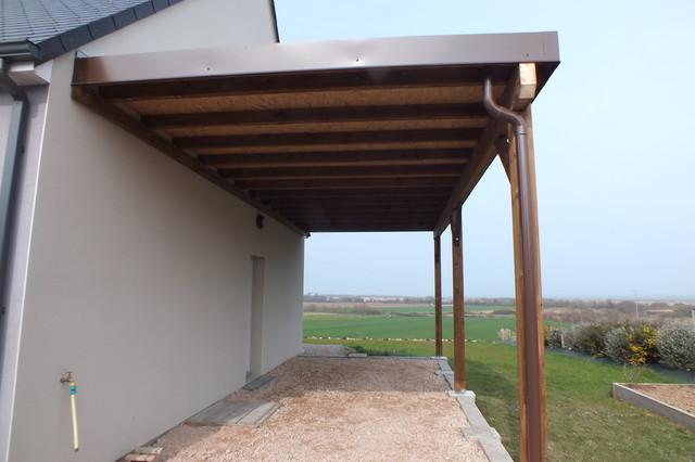 Carport for Abri bois ferme