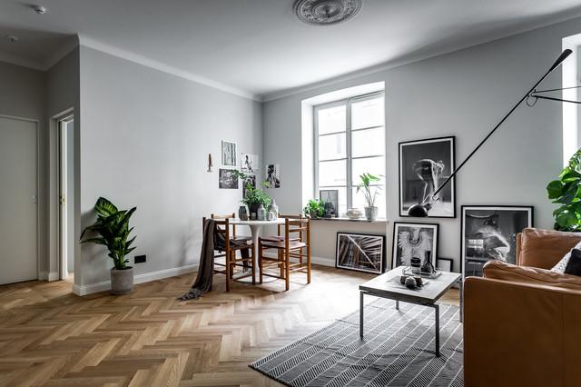 As se combina el color del suelo con el de paredes y puertas for Paredes grises y puertas blancas