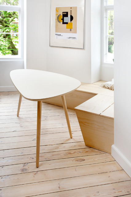 Custom made bench and dining table skandinavisk-alrum
