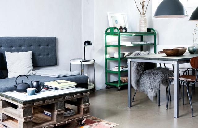Indretning Østerbro industrial-family-room