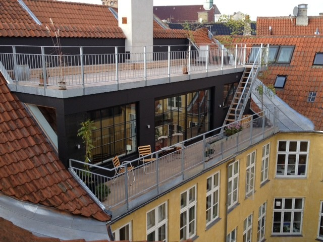 Tagbolig i københavn - Industrielt - Altan - København - af Arkitekt ...