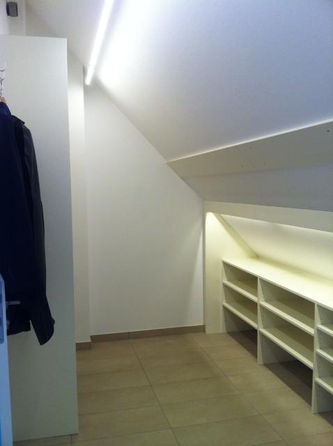 ankleide dachschr ge ankleidezimmer m nchen von. Black Bedroom Furniture Sets. Home Design Ideas