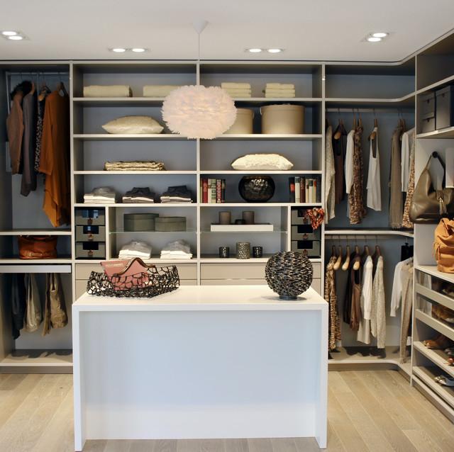 Begehbare Kleiderschranke