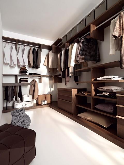 Begehbarer kleiderschrank modern  Begehbarer Kleiderschrank - Modern - Ankleidezimmer - Berlin - von ...