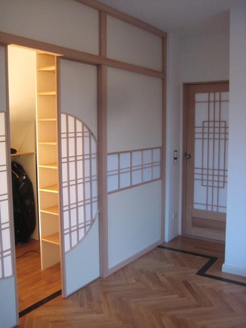 begehbarer kleiderschrank mit shoji fusuma front shoji. Black Bedroom Furniture Sets. Home Design Ideas