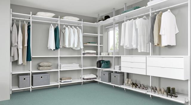 begehbarer kleiderschrank regalsystem ankleidezimmer. Black Bedroom Furniture Sets. Home Design Ideas