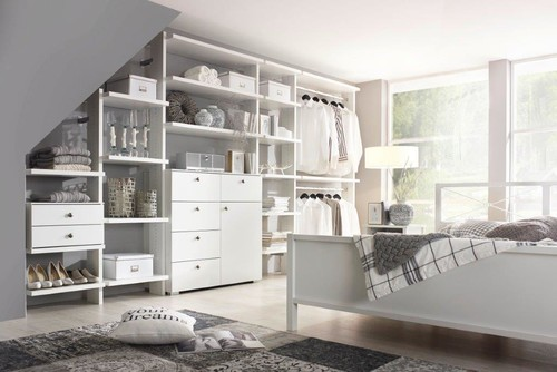unser pixi schranksystem begehbarer kleiderschrank ja. Black Bedroom Furniture Sets. Home Design Ideas