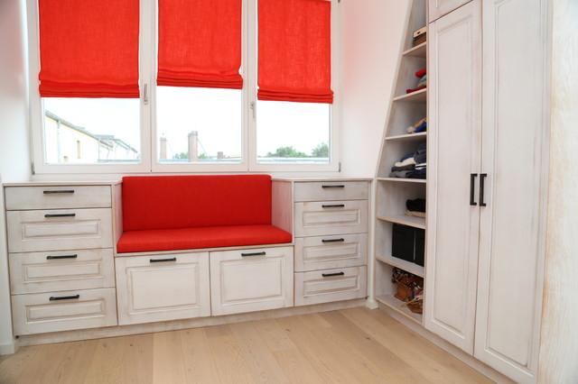 loft berlin shabby chic style closet other metro by tischlerei sekura. Black Bedroom Furniture Sets. Home Design Ideas