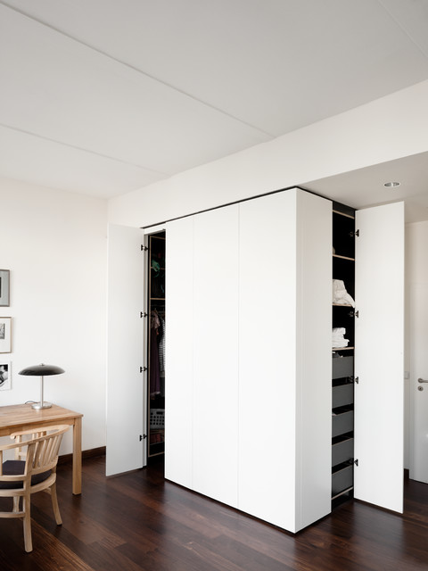 umbau loft wohnung berlin friedrichshain modern. Black Bedroom Furniture Sets. Home Design Ideas
