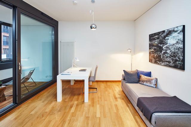 4 zimmer wohnung in hamburg hafencity modern arbeitszimmer hamburg von home styling hamburg. Black Bedroom Furniture Sets. Home Design Ideas