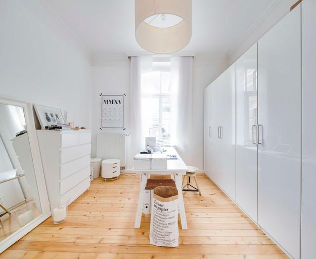 altbau modern in k ln skandinavisch arbeitszimmer. Black Bedroom Furniture Sets. Home Design Ideas