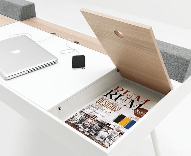 arbeitsplatz modern arbeitszimmer d sseldorf von. Black Bedroom Furniture Sets. Home Design Ideas