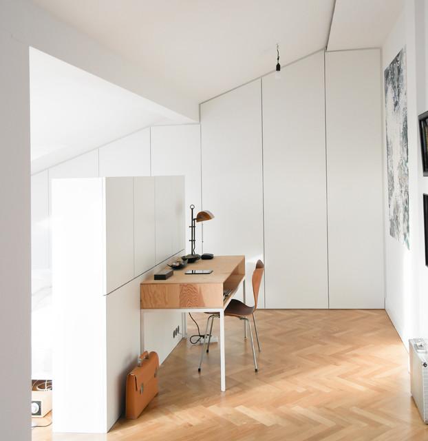 Gut bekannt GANTZ Kleiderschrank nach Maß unter Dachschräge und Raumteiler LQ12